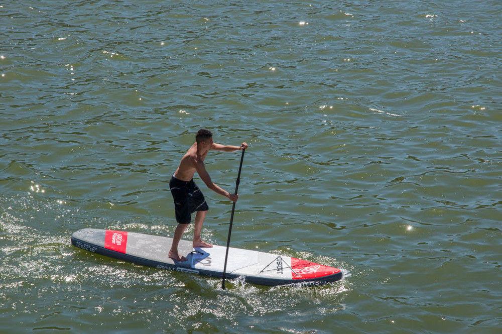 SUP DVSport 22360 Stand-Up-Paddle 12.0 aufblasbar 366x81x15cm Bild 2
