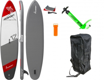 SUP DVSport 22360 Stand-Up-Paddle 12.0 aufblasbar 366x81x15cm Bild 1