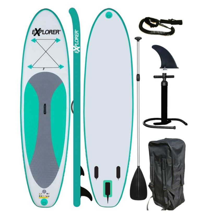 Stand UP Paddling Set / SUP Board / Surfboard / Stehpaddeln Bild 1