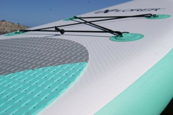 Stand UP Paddling Set / SUP Board / Surfboard / Stehpaddeln Bild 3