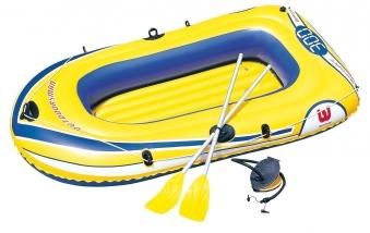 Schlauchboot - Badeboot-Set Bestway Hydro Force Raft 228x121cm Bild 1