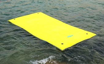 Wassermatte / Schwimmmatte L 350x180x3,5cm Bild 1