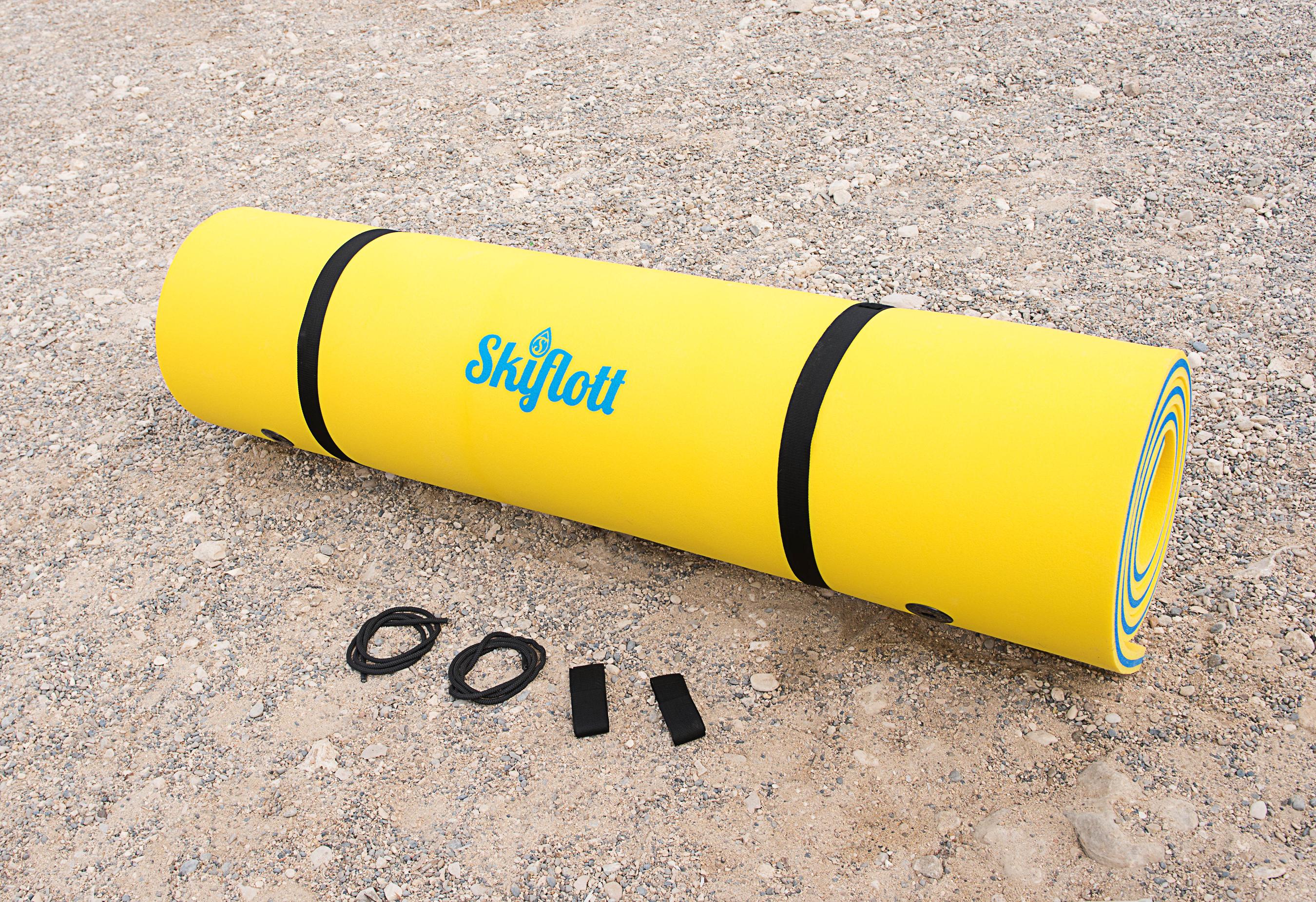 Wassermatte / Schwimmmatte M 260x180x3,5 cm Bild 2
