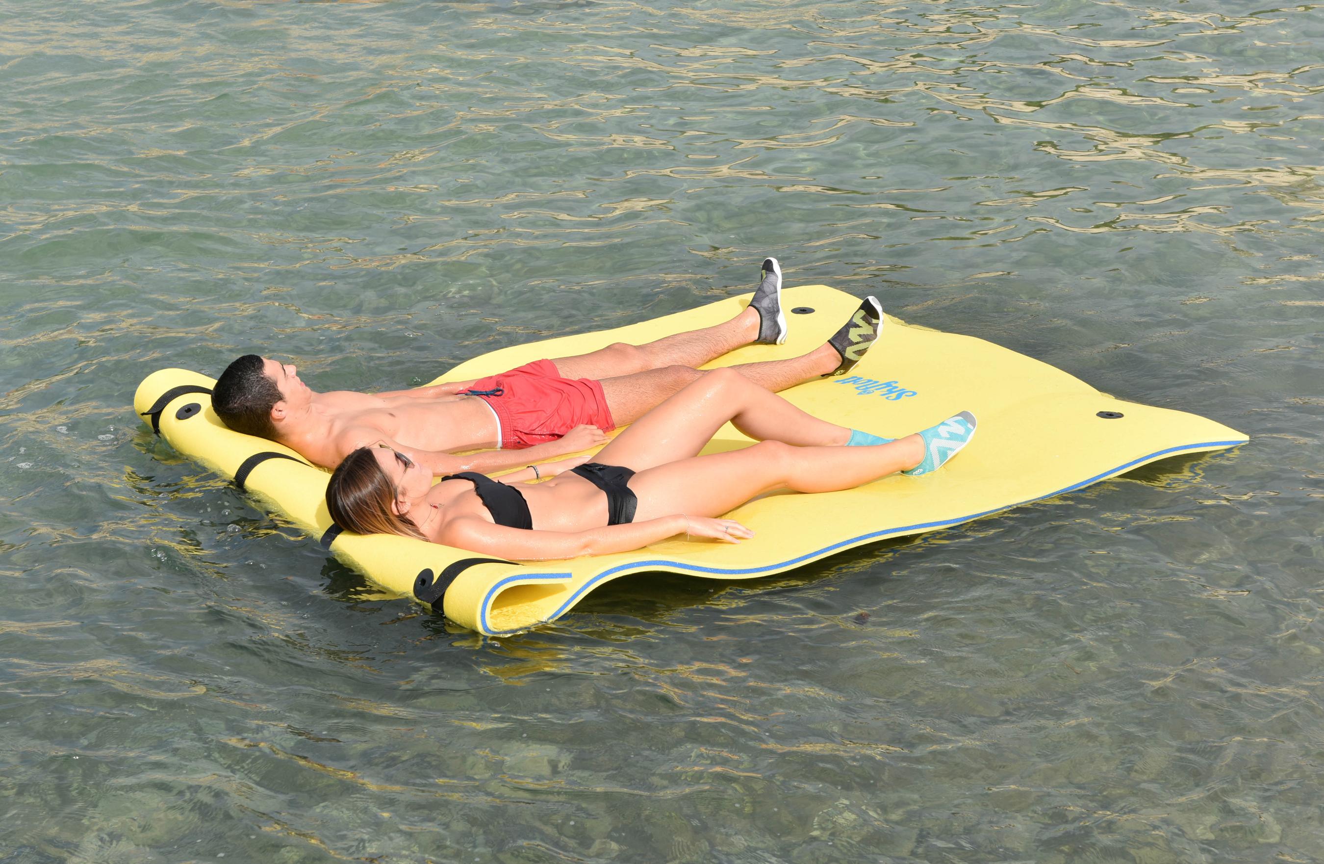 Wassermatte / Schwimmmatte M 260x180x3,5 cm Bild 6