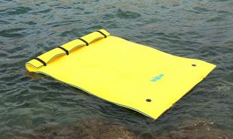 Wassermatte / Schwimmmatte M 260x180x3,5 cm Bild 1