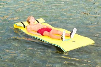 Wassermatte / Schwimmmatte S 260x90x3,5cm Bild 6