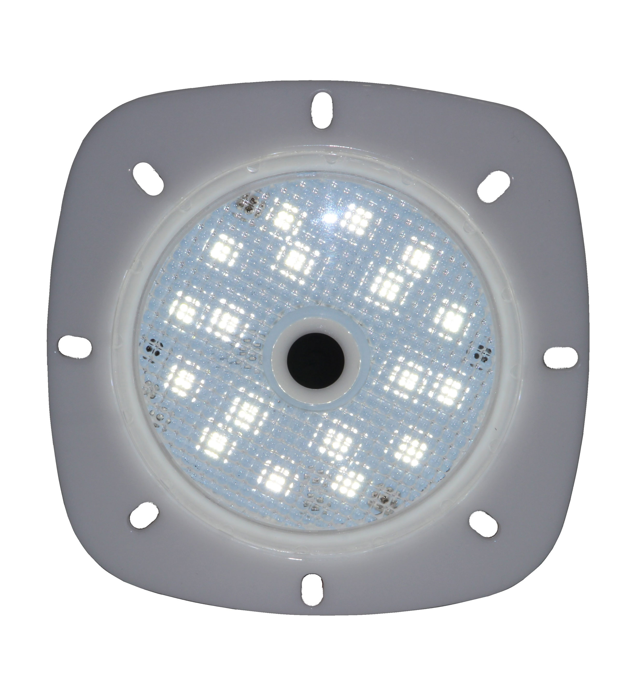 Poolbeleuchtung LED myPool LED-Magnet-Scheinwerfer grau/RGB Bild 1