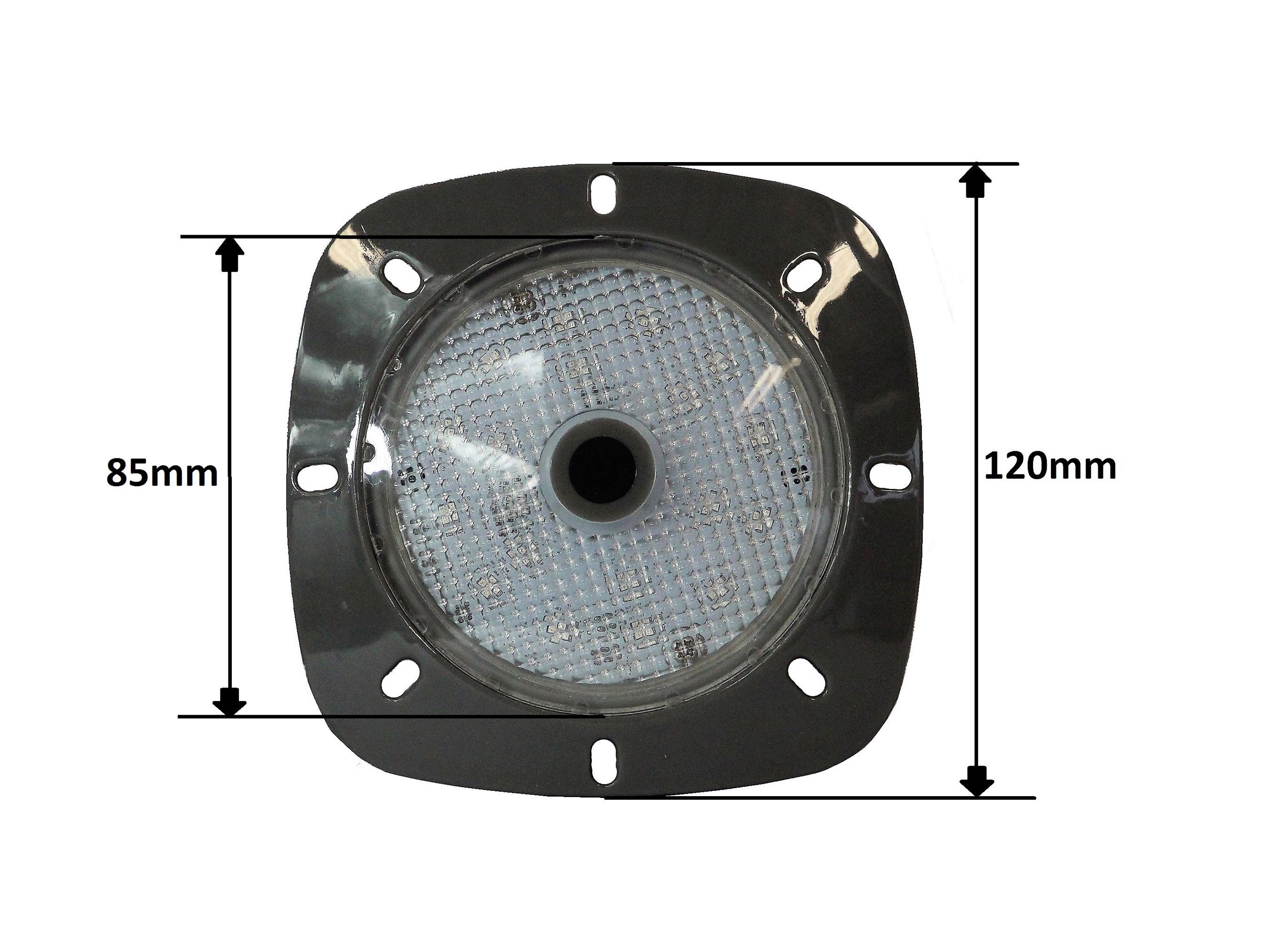 Poolbeleuchtung LED myPool LED-Magnet-Scheinwerfer grau/RGB Bild 2