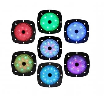 Poolbeleuchtung LED myPool LED-Magnet-Scheinwerfer grau/RGB Bild 3