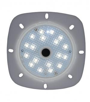 Poolbeleuchtung LED myPool LED-Magnet-Scheinwerfer grau/weiß Bild 1