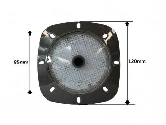 Poolbeleuchtung LED myPool LED-Magnet-Scheinwerfer grau/weiß Bild 2