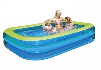 Planschbecken Family Pool Wehncke 265x175x50cm Bild 1