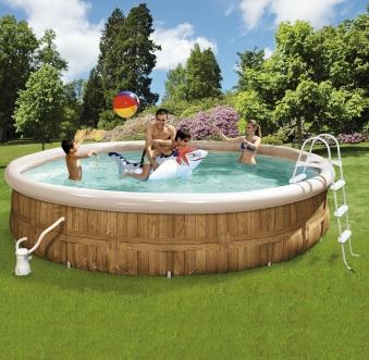Pool / Family Pool Venice Wehncke mit Filterpumpe Ø350x90cm Bild 1
