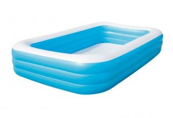 Schwimmbecken Bestway Family Pool Deluxe 305x183x56cm Bild 1