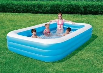 Schwimmbecken Bestway Family Pool Rectangular Deluxe