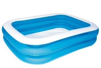 Schwimmbecken Bestway Family Pool Rectangular 262x175x50cm Bild 2