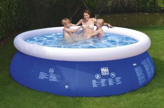 Schwimmbecken Happy People Quick Up Pool Set Ø240x63cm Bild 1