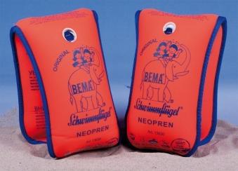 BEMA Neopren-Schwimmflügel mit Doppelkammersystem Bild 1