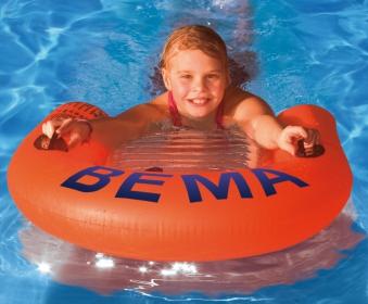 BEMA Schwimmhilfe / Surfer Kinder 78x68cm Bild 1