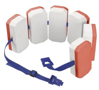 BEMA Schwimmlernhilfe / Schwimmgürtel mit 6 Auftriebskörpern Bild 1