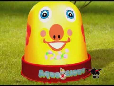 BIG Wasserspiel Aqua Clown Video Screenshot 1981