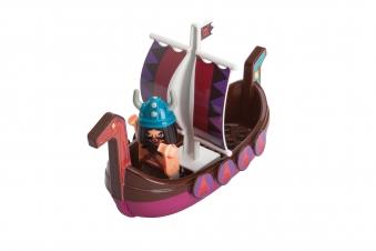 BIG Wasserspiel Waterplay Wickie Drachenboot SVEN Bild 2