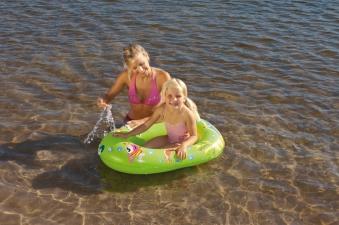 Kinderboot / Badeboot Wehncke 95x55x20cm Happy People 77001 Bild 1