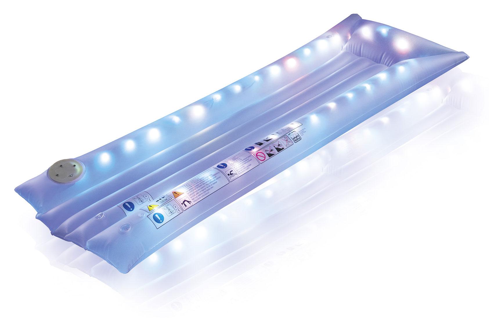 Luftmatratze / Wassermatratze LED 172x68x14cm Happy People 77651 Bild 1