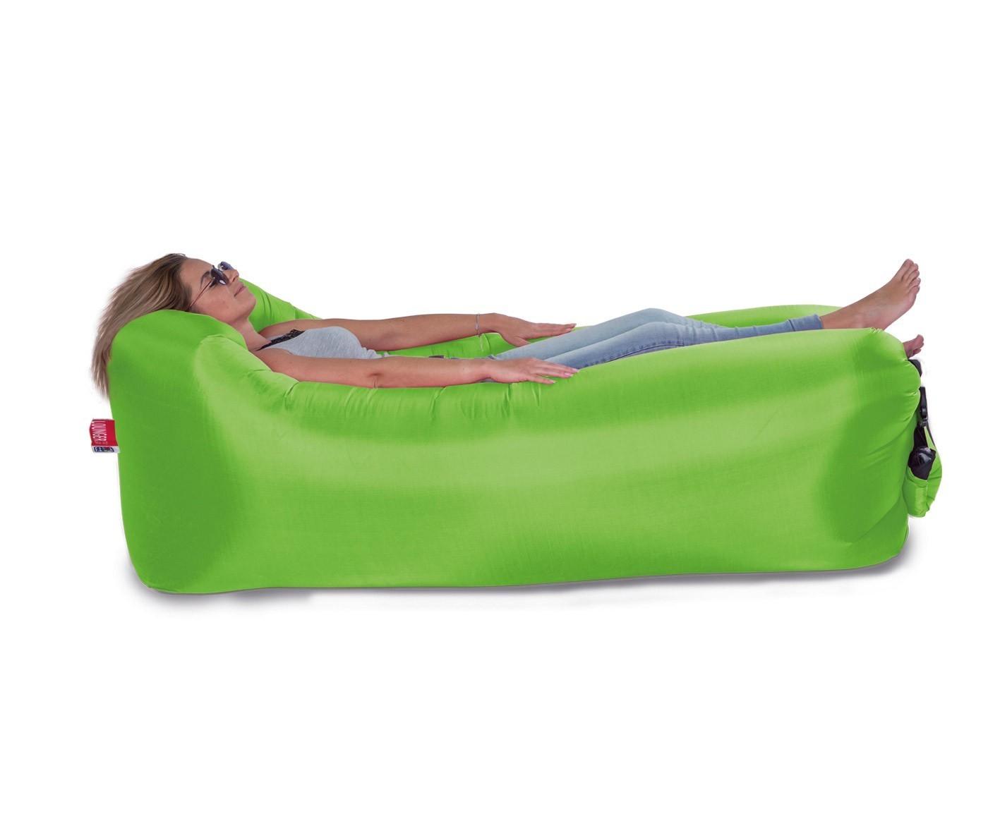 Luftsofa / Luftliege Lounger To Go 240x70cm grün Happy People 78094 Bild 1