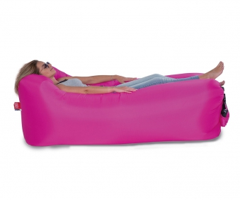 Luftsofa / Luftliege Lounger To Go 240x70cm pink Happy People 78093 Bild 1