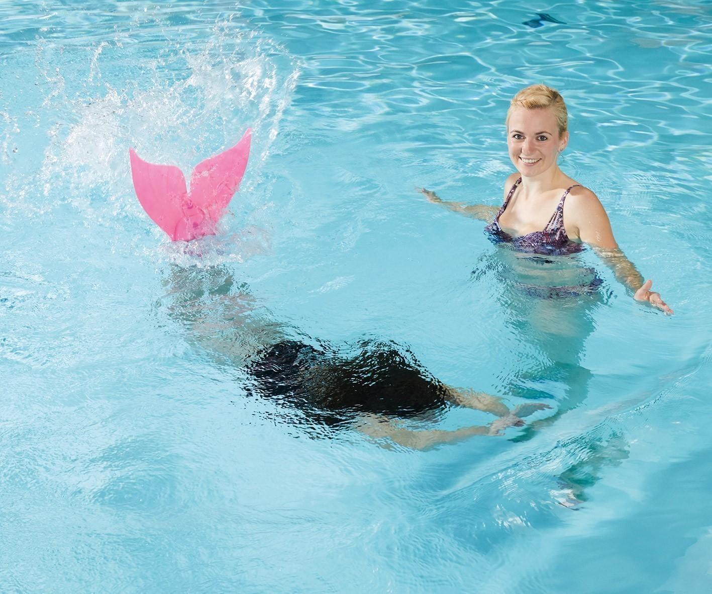 Schwimmflossen / Monoschwimmflosse farbig sortiert Happy People 77204 Bild 2