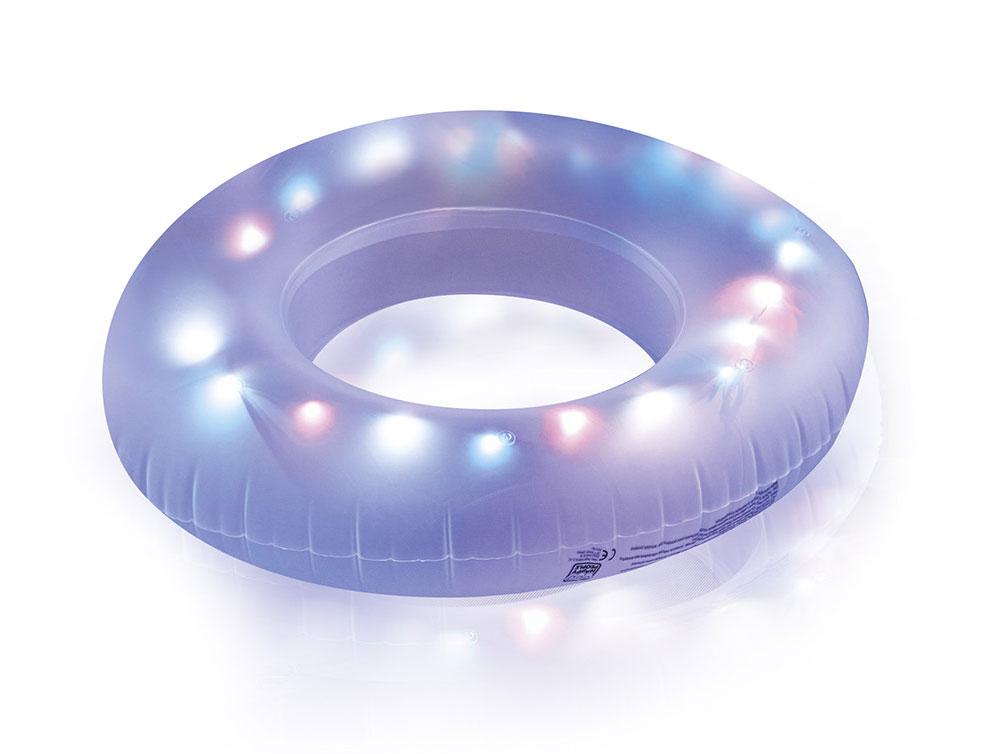 Schwimmreifen / LED Schwimmring Ø81cm Happy People 77652 Bild 1
