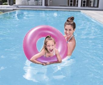 Schwimmreifen / Schwimmring Bestway Frosted Neon Ø76cm Bild 2