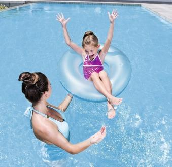 Schwimmreifen / Schwimmring Bestway Frosted Neon Ø76cm Bild 4