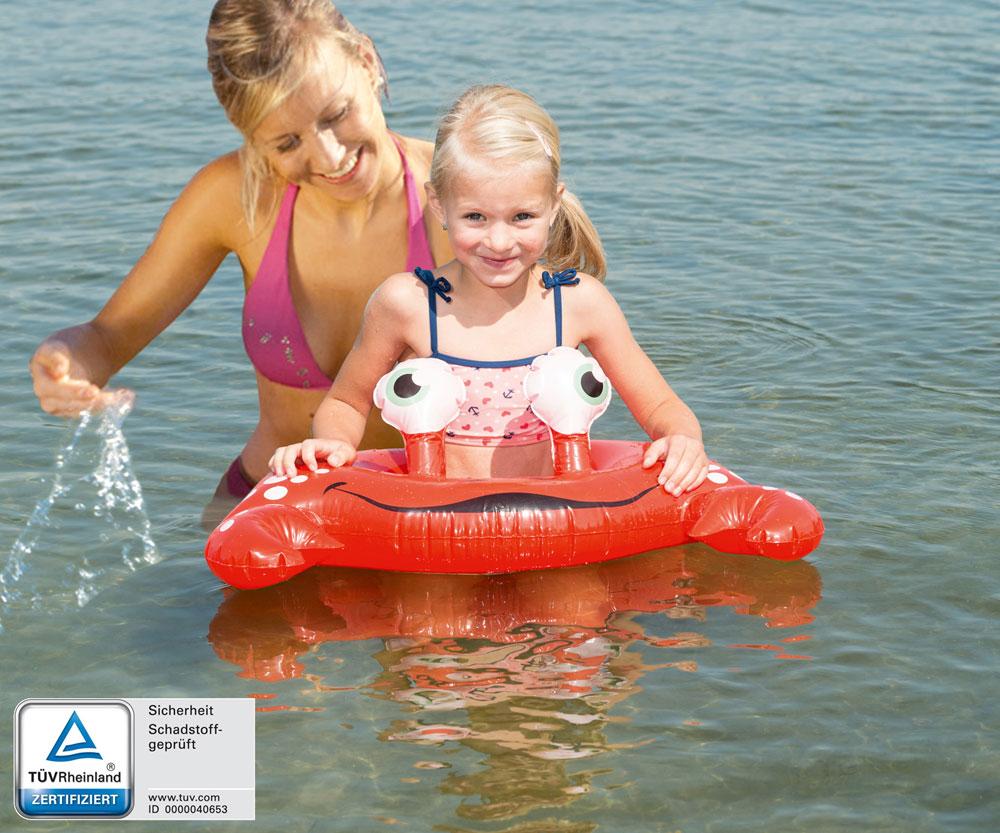 Schwimmreifen / Schwimmring Happy People Krebsdesign 67x53 cm Bild 1