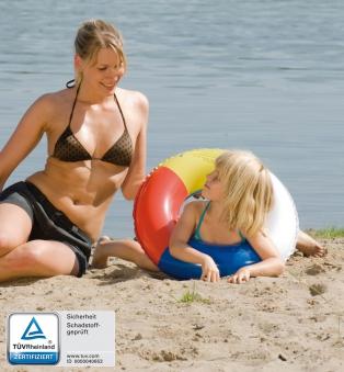 Schwimmreifen / Schwimmring Happy People Reflexfarben Ø53 cm Bild 1