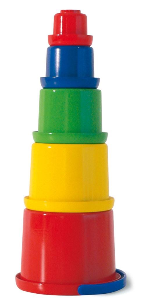 Stapelbecher-Set Sandspiel / Wasserspiel 5-teilig spielstabil Bild 1
