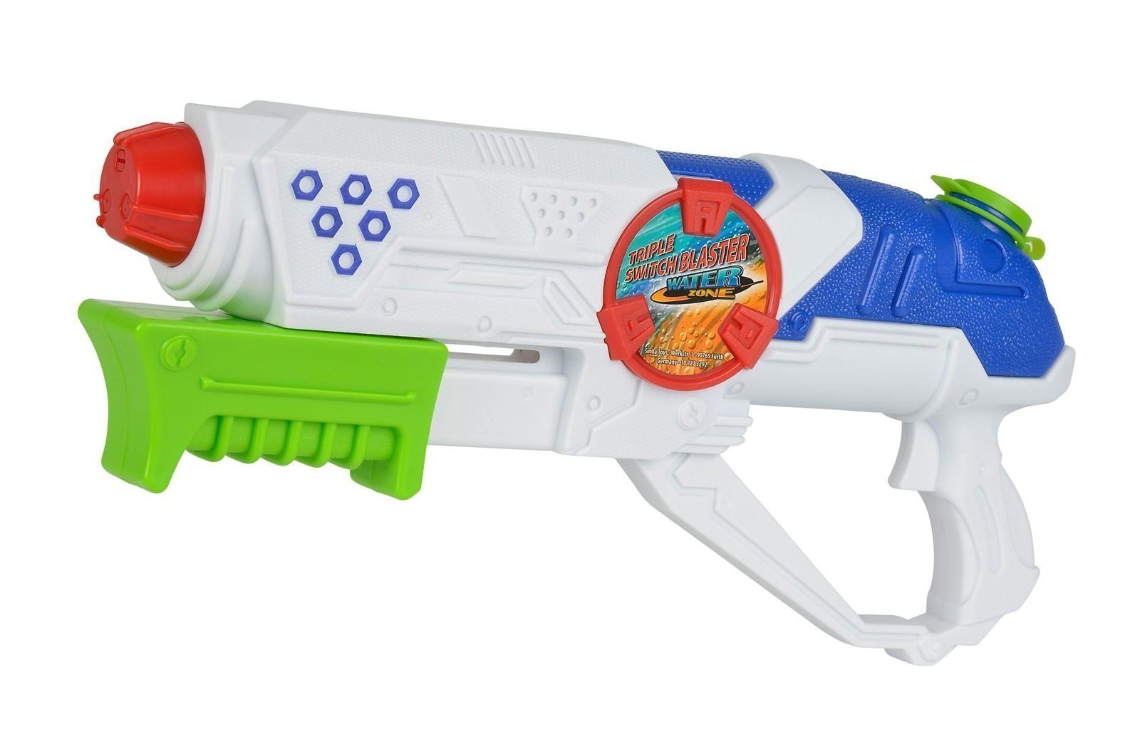 Wasserpistole / Wassergewehr Simba Waterzone Triple Switch Blaster Bild 1