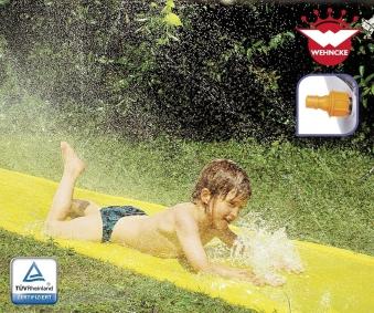 Wehncke Wasserrutsche gelb 610x80cm Happy People 18235 Bild 1