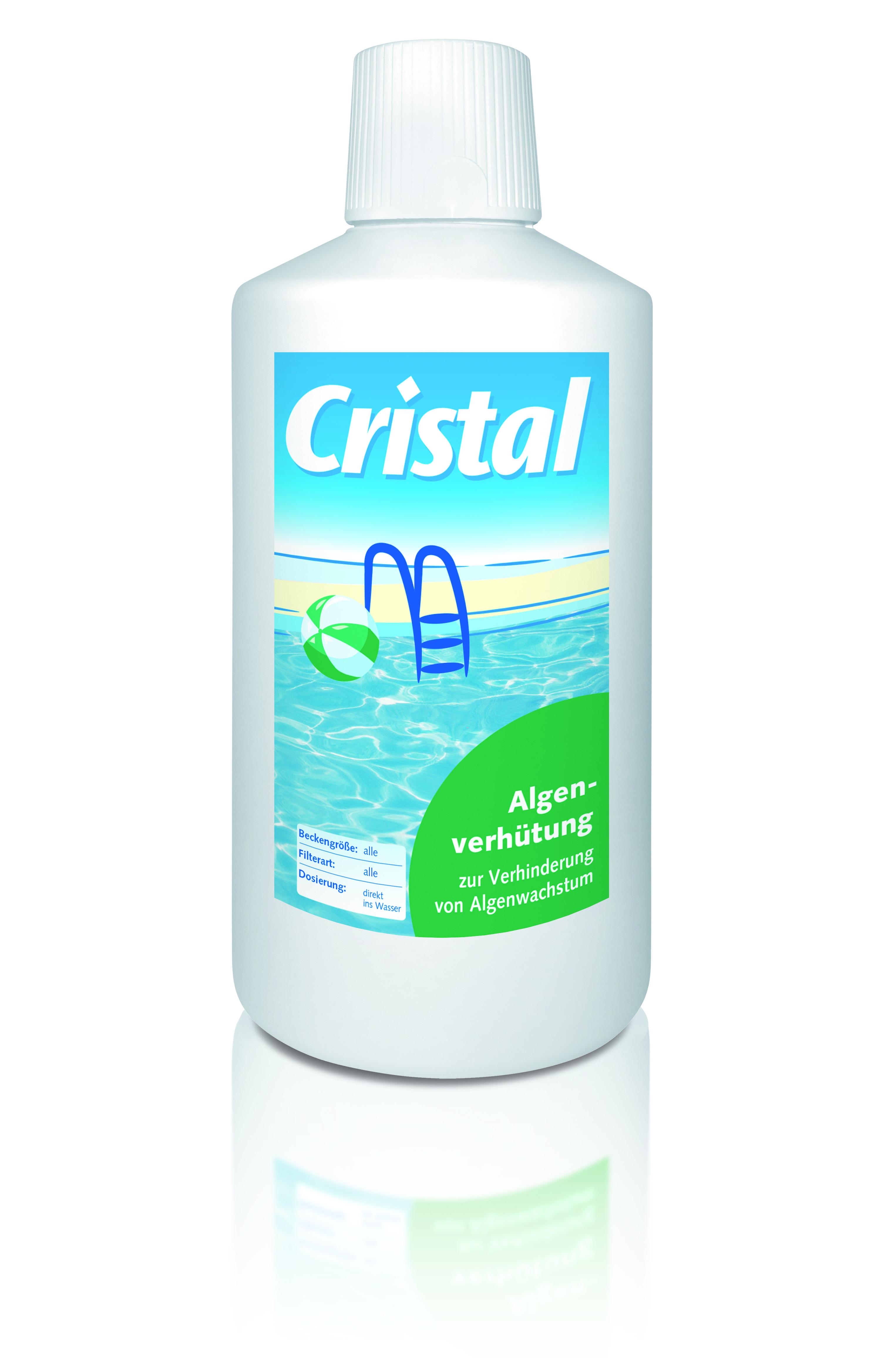 Cristal Wasserpflege Algenverhütung 3 Liter Bild 1
