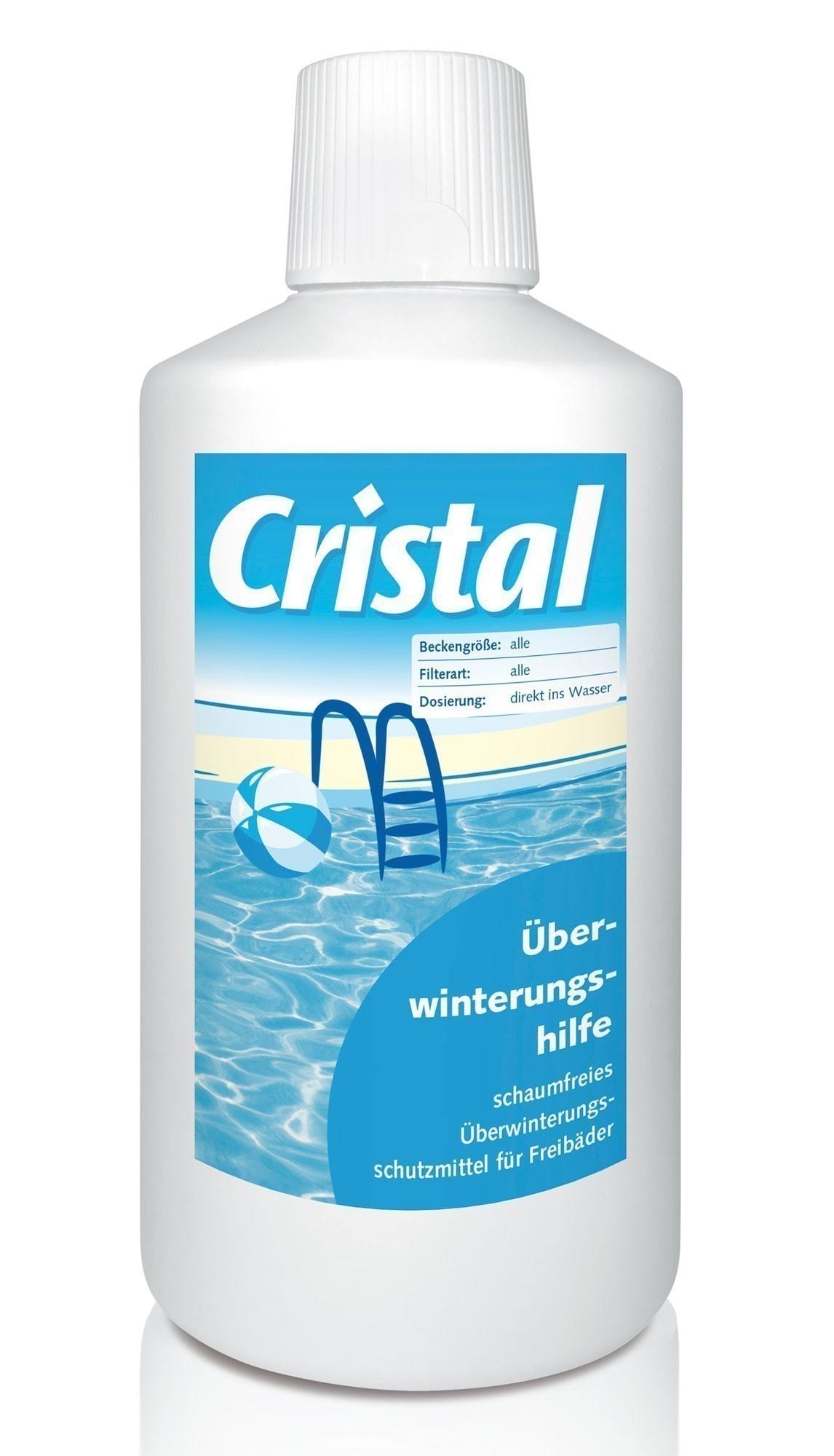 Cristal Wasserpflege Winterschutzmittel für Schwimmbad 1 Liter Bild 1
