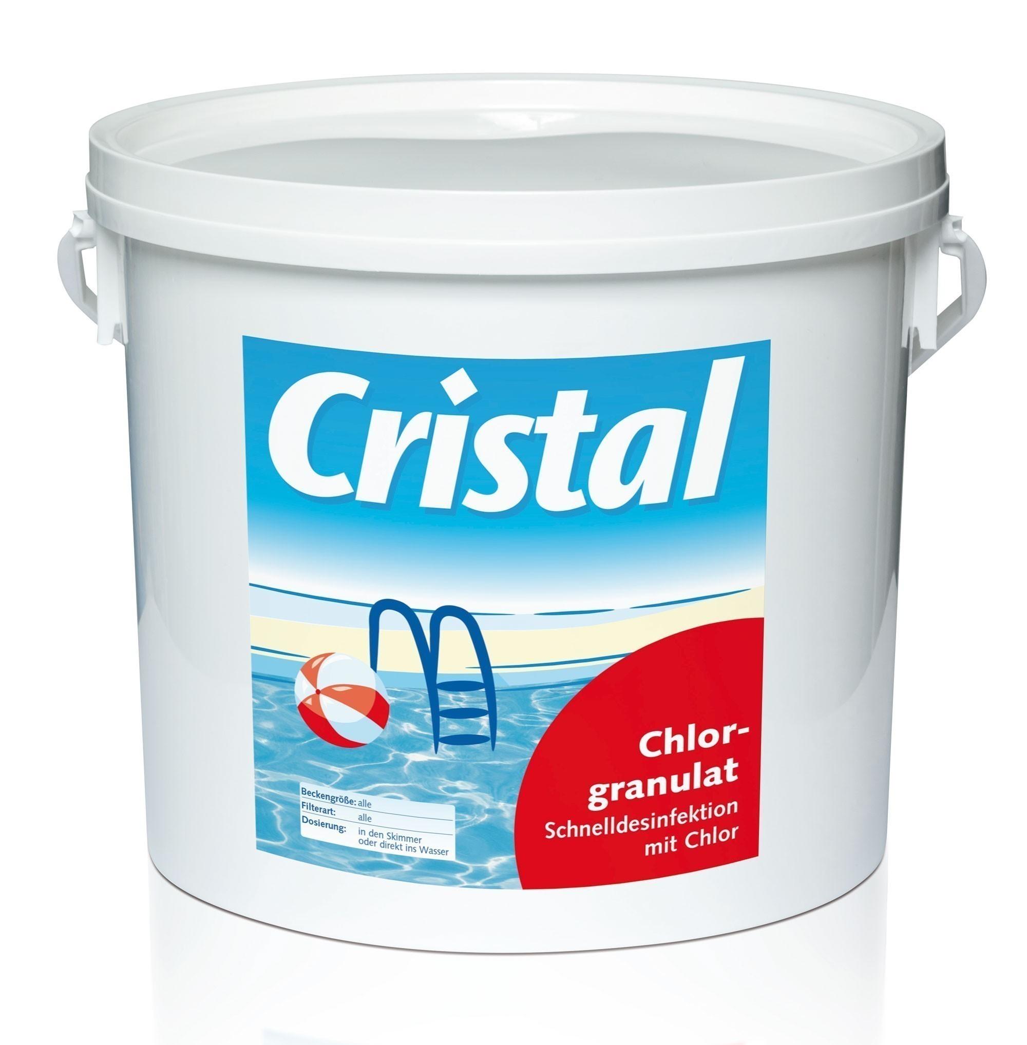 Cristal Wasserpflege Chlorgranulat 5 kg Bild 1