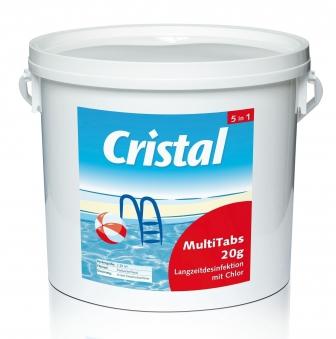 Cristal Wasserpflege Desinfektion Multi Tabs 5in1 Inhalt 5kg Bild 1