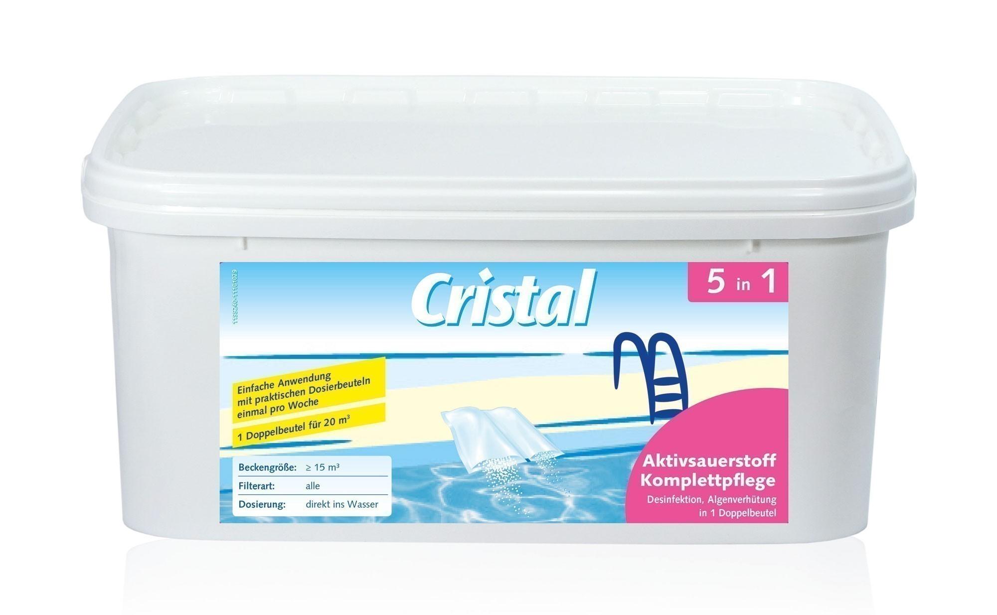 Cristal Wasserpflege Aktivsauerstoff Komplettpflege 2,24kg Bild 1