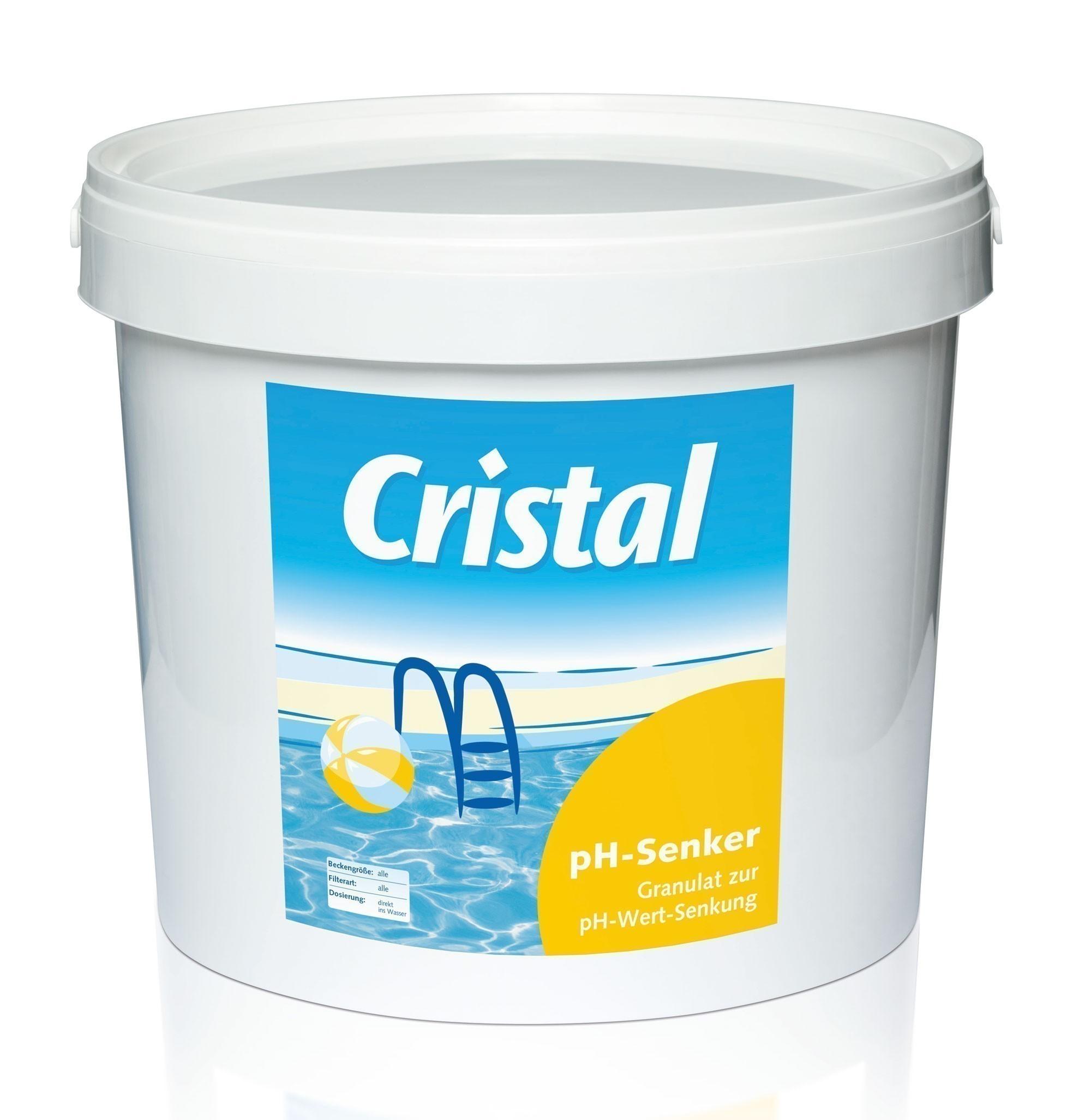 Cristal Wasserpflege pH-Minus Granulat 6 kg Bild 1