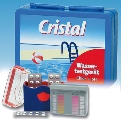 Cristal Wassertestgerät Chlor / pH-Wert-Tester Bild 1