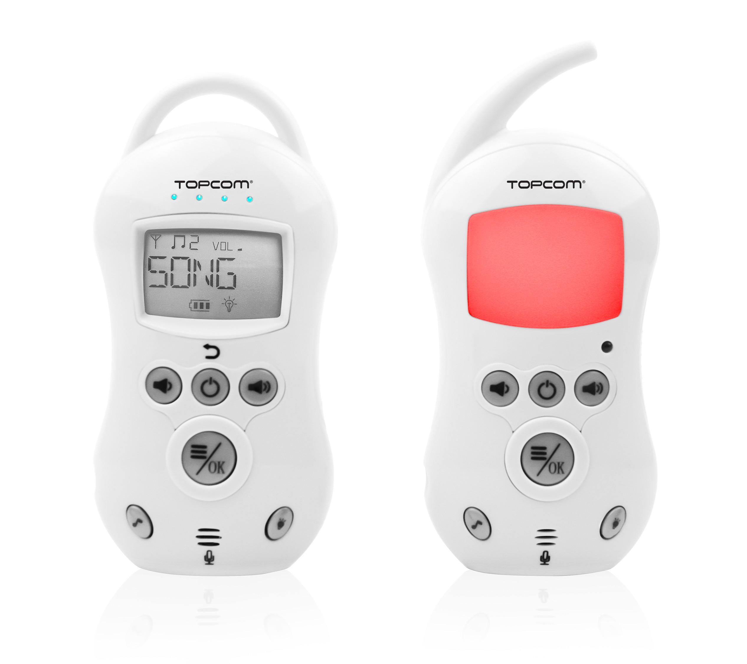 babyphone topcom ks 4222 1 8ghz reichweite 300m bei. Black Bedroom Furniture Sets. Home Design Ideas