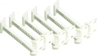 Sicherheitshäkchen  für Schranktüren / Schubladen 6 Stück Bild 1
