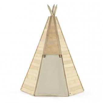 Indianerhütte Plum Tipi Holz Ø150xH230cm Bild 2