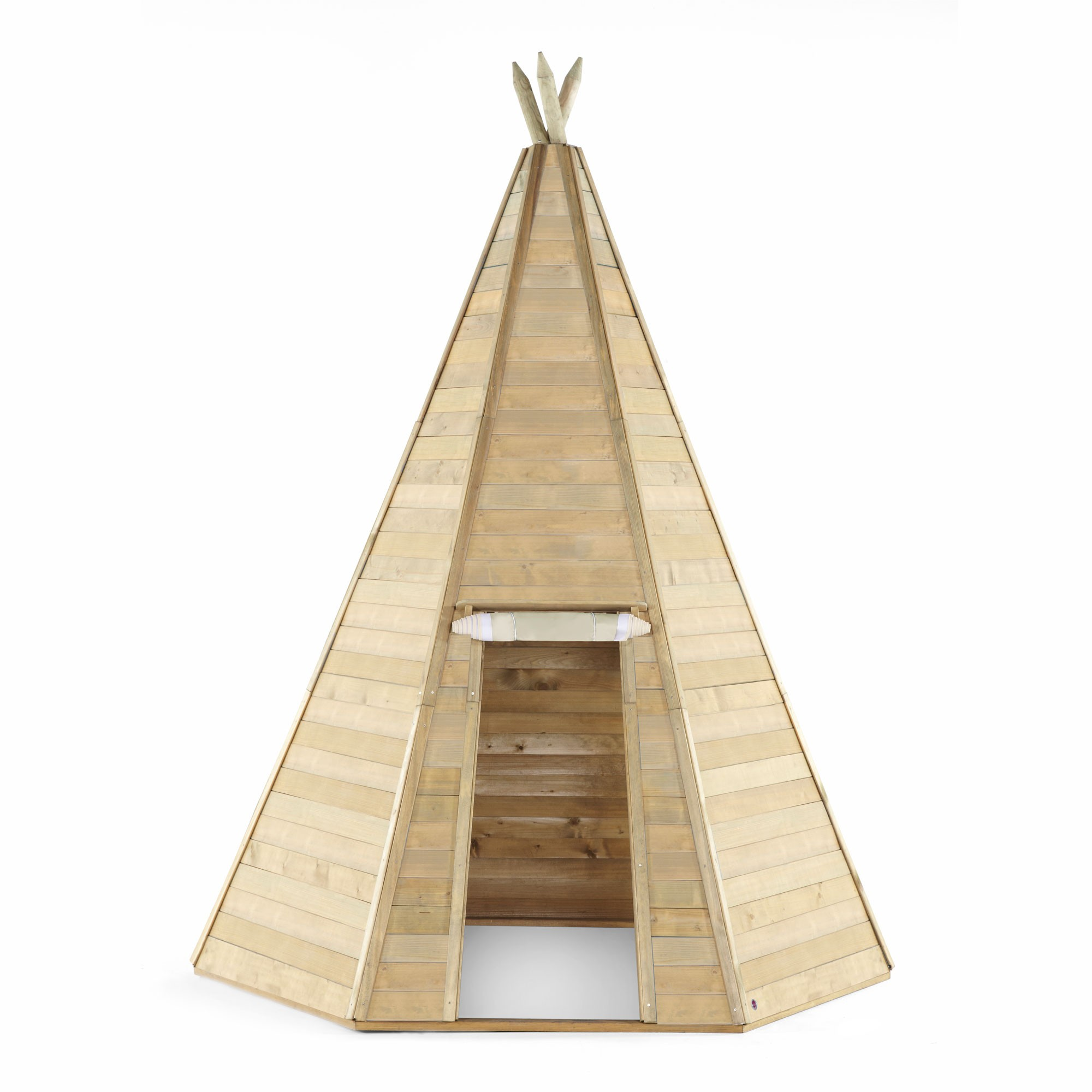 Indianerhütte Plum Tipi Holz Ø220xH330cm Bild 1